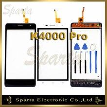 Черный и белый сенсорный экран для Oukitel K4000 PRO Сенсорный экран планшета панели датчик + Инструменты + 3 м стикер + трек