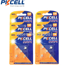 30Pcs 6Card PKCELL AG3 G3 LR41 192 Alkaline Button Coin Battery Equal to LR192 V3GA SR41 192 392 For Watches Toys