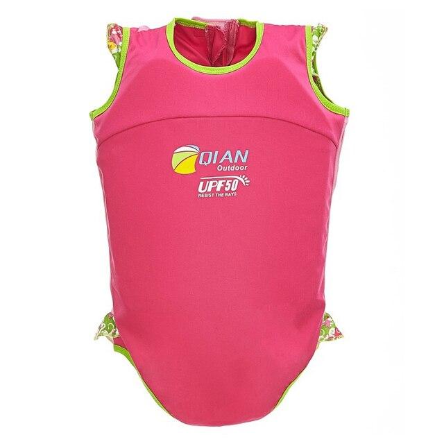 Professional Baby Swimwear Infant Bikini Floating Swimsuit Boy Girl Buoyancy Vest Baby Swimming Trunks Swim Diaper for 1-2 Years