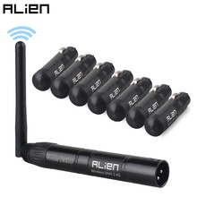 ALIEN 2,4G ISM Wireless DMX 512 Dfi Controller XLR Empfänger Sender Für Disco DJ Party Bar Bühne PAR Moving kopf Laser Licht