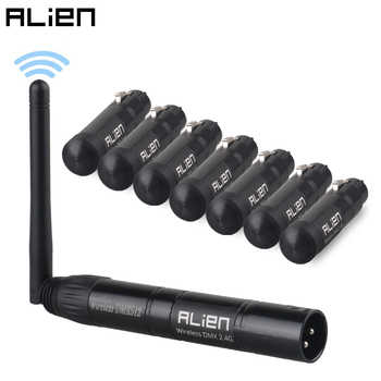 ALIEN 2.4G ISM Wireless DMX 512 Dfi Controller XLR Receiver Transmitter For Disco DJ Party Bar Stage PAR Moving Head Laser Light - DISCOUNT ITEM  30% OFF All Category