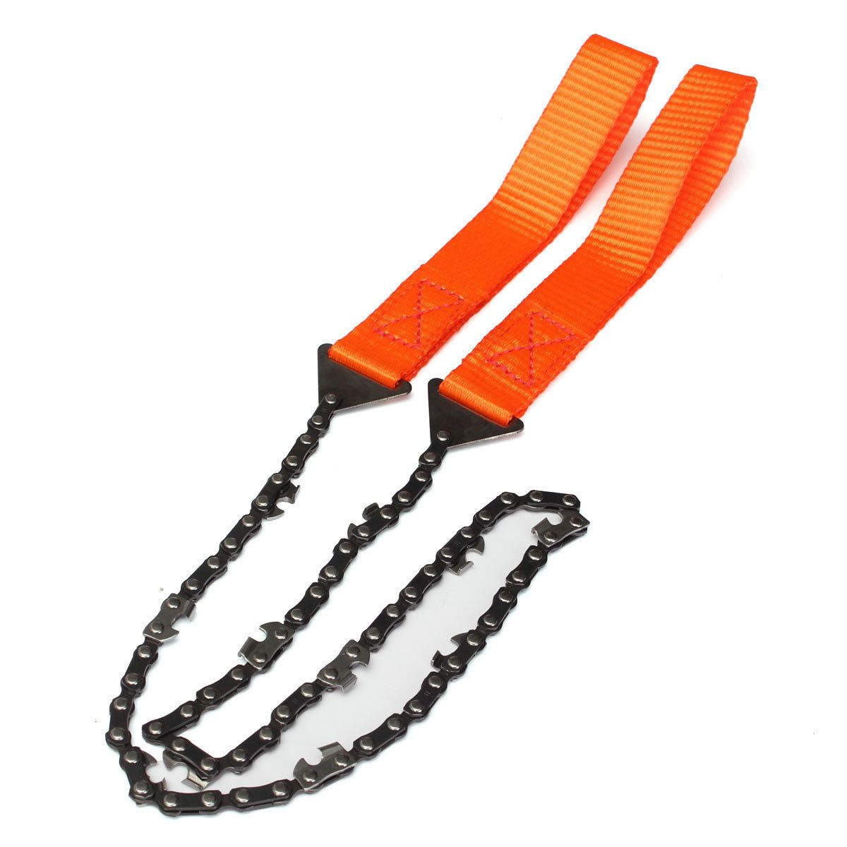 Tool Parts Helpful Portable Survival Chain Saw Chainsaw Emergency Camping Pocket Hand Tool Pouch A Great Variety Of Goods
