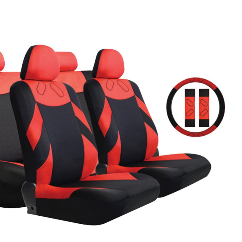 TIROL Hot Sale T20648a Universal Car Seat Cushion Polyester 13Pieces Complete Set Cover Styling Free Shipping hot sale hot sale car seat belts certificate of design patent seat belt for pregnant women care belly belt drive maternity saf