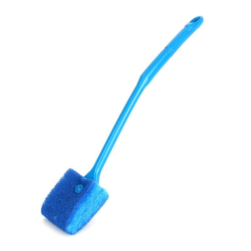 Новые магнитные щетки для аквариума, плавающие чистые стеклянные оконные водоросли, скребок, щетка для очистки, пластиковая губка, аксессуары, инструменты - Цвет: Style 2