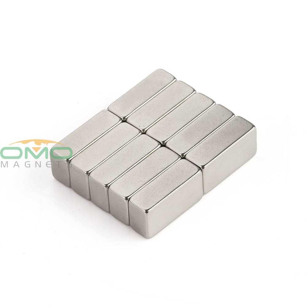 ОМО магнетизм 15x7,5x5 мм N35 10 шт. супер сильный блок кубовидный магнит редкоземельный неодимовый