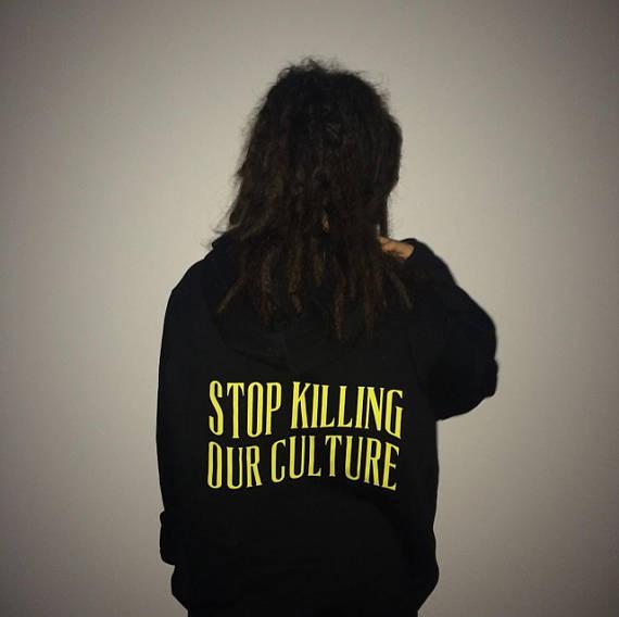 b601e4083a93d Crewneck Wydrukowano Zabijanie Stop Żółty Kultura Nasza Bluzy Tumblr 6gwwYfa