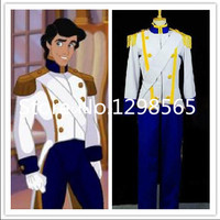 The Little Mermaid Prince Eric Cosplay Costume Fancy Costume
