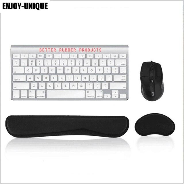 elegir despacho 2019 real comprar baratas € 11.76 |Mouse Pad muñeca resto almohadilla de teclado para reposar muñeca  y ratón Gel de sílice soporte para muñeca con espuma de memoria para ...