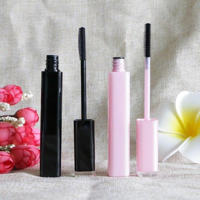 Nouveau vide Rimel étanche Mascara crème Tubes Sexy 6 ml rose noir couleur Mascaras longs cils outils de maquillage emballage 20 pcs/lot