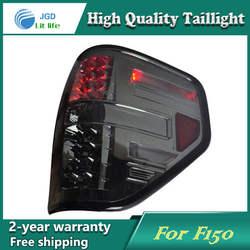 Стайлинга автомобилей хвост лампа для Ford Raptor F150 2009-2013 задние фонари светодиодные Фонарь задний светодиодные лампы ДРЛ + Тормозная + park +