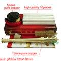 ¡ Nuevo! Cobre puro de Gran Tamaño Corporal stick artemisa Moxibustión caja de Moxa se pega con alta calidad