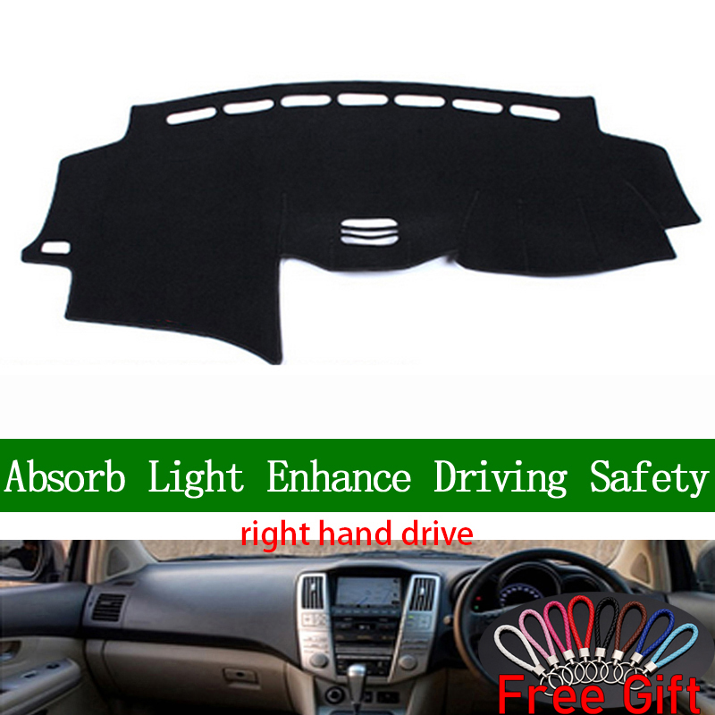 For <font><b>lexus</b></font> RX300 RX350 <font><b>RX400</b></font> 2004 2005 2006 2007 Right Hand Drive Dashboard Cover <font><b>Car</b></font> Stickers Dash <font><b>Mat</b></font> Interior Accessories image