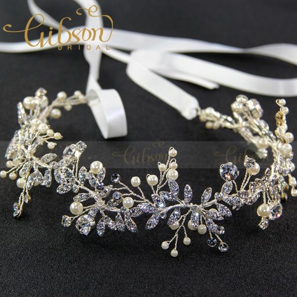 Handmade RhineStone Leaf Women Daily Hair Ornaments Wedding Hair Decoration Metal Hair Vines Bridal Headpieces