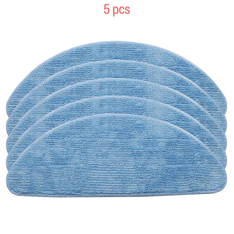 5 Pieces Per Pack, Clean And Wipe The Mop For Ilife V7  Robot Vacuum Cleaner Parts