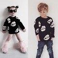 2015 otoño nueva marca de moda de la familia ropa a juego suéteres madre e hija e hijo ropa suéteres