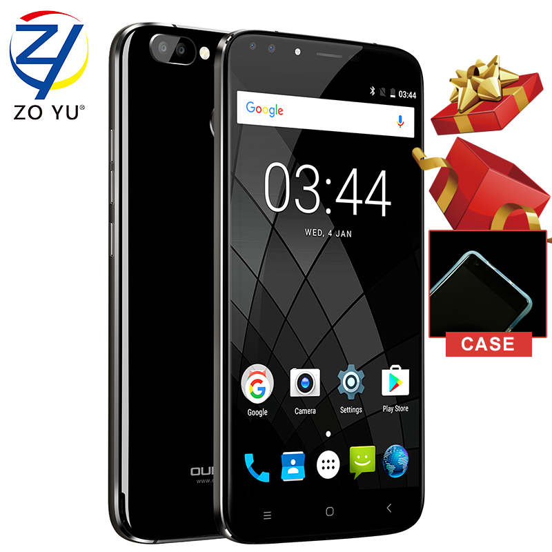 Oukitel U22 Smart phone 3G Android 7.0 Mobile phone MTK6850A 2G+16G Fingerprint ID Quad Core 5.5 HD 2700mAh 8.0MP Cell phone