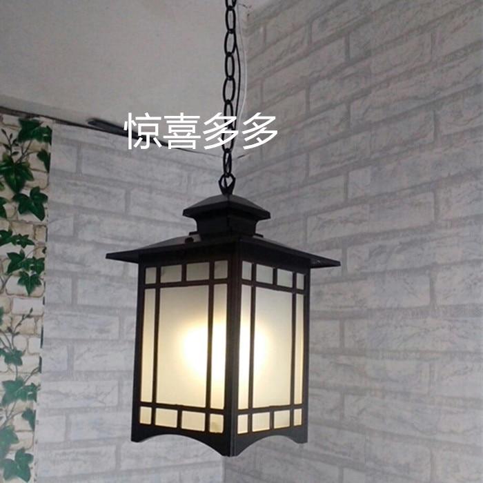 Outdoor Light balcony Retro lamp pastoral Chinese Pendant lamps outdoor pastoral lighting corridor dining Pendant Lights FG203