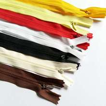 5pcs/lot 40cm Invisible Zipper cushion Skirt Hidden 3# Nylon Zipper for sewing/Garment DIY Handmade Craft accessories
