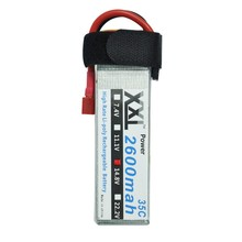 XXL Power Top Quality 4S 14.8v 2600mah 35C Lipo Battery For RC Car Helicopter 6 Channel Align Trex Akku