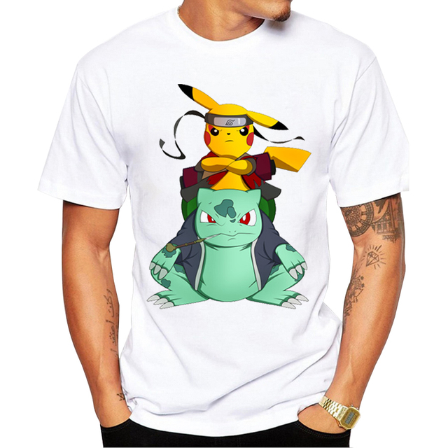Pokemon Go Pikachu Stitch T shirts