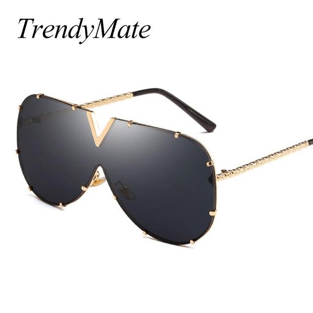 812feaedbc 2018 New Women Big Butterfly Sunglasses Oversize Men Gradient Lens Goggle  Shades Retro Big Woman Sun