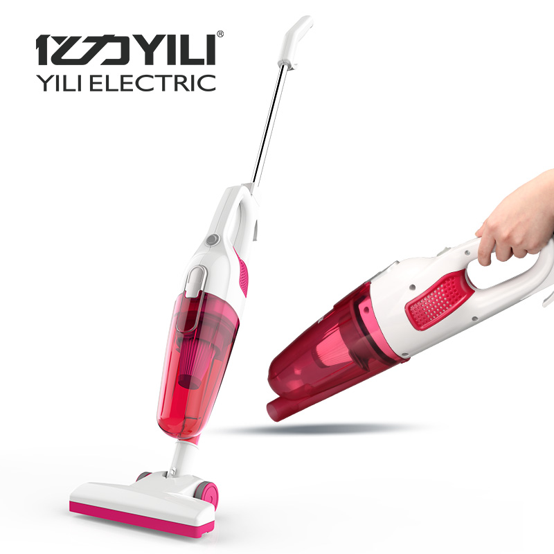 Yili Home Small Mini Vacuum Cleaner Strong Suction Hand Hold Putt Dual Use Dust Collector Mute Vacuum Cleaners deerma acarid killing machine mini portable hand hold ultraviolet sterilization vacuum cleaner 350w strong suction cm900