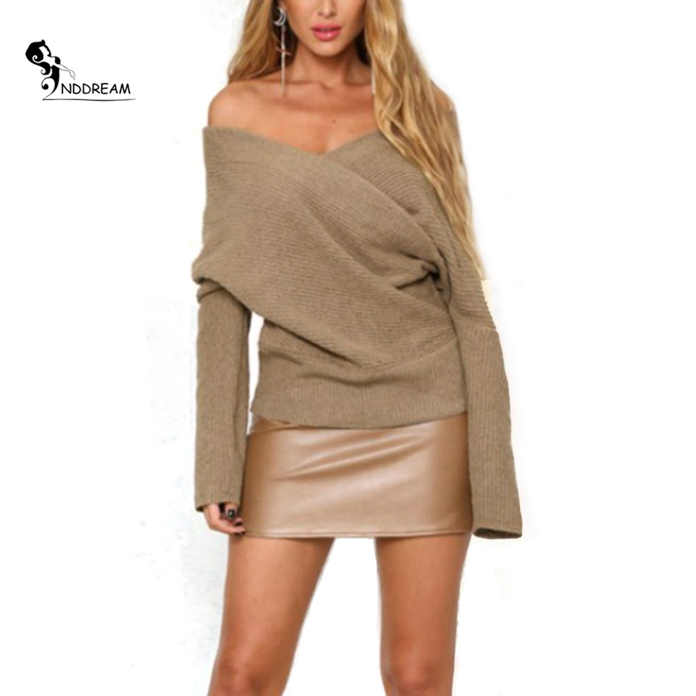 Online Get Cheap Women Off One Shoulder Sweater -Aliexpress.com ...
