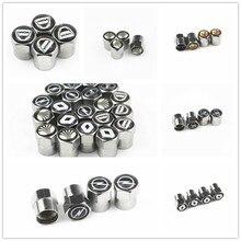 4 шт. колпачки клапанов для автомобильных шин, колпачки для пневматических шин для bmw benz, vw, audi, Ford, Kia, hyundai, Nissan, VW, toyota, Mazda, Volvo, LexuS, Porsche