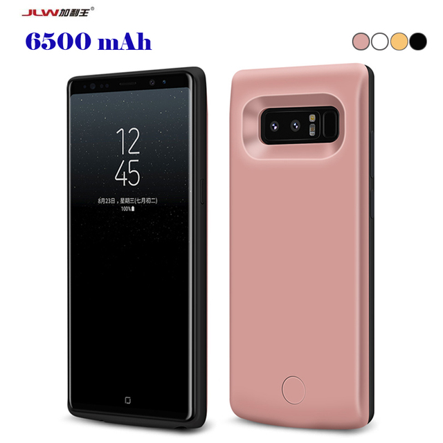 new products 30d19 c445f US $26.99 |JLW 6500mAh Battery Case For Samsung Galaxy Note 8 Smart Charger  Cover For Samsung Galaxy Note 8 Power Bank Capa Fundas-in Battery Charger  ...