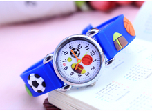 3D Cartoon Lovely Baseball basketball football Kids Girls Boys Children Students Quartz Wrist Watch Very Popular watches style