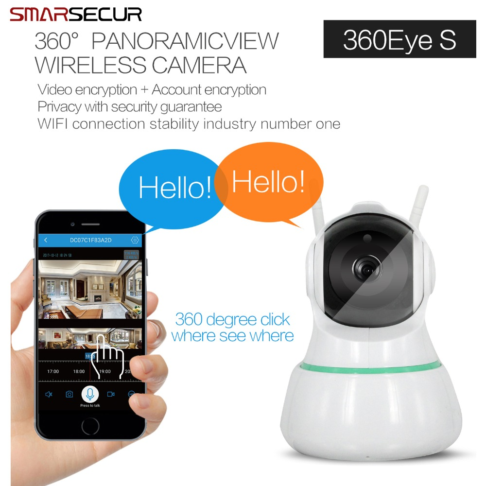 HD Ip Camera Wireless Wi-fi Video Surveillance Night Security Camera Network Indoor Baby Monitor