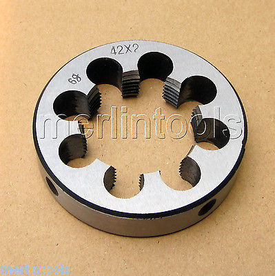 42mm x 2 Metric Right hand Thread Die M42 x 2.0mm Pitch 52mm x 2 metric right hand thread die m52 x 2 0mm pitch