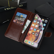 Brown Leather Wallet Flip Case For HTC Desire