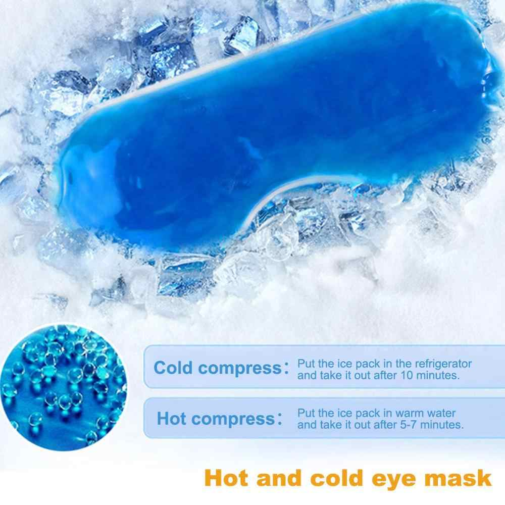 1PC ICE Pack Eye Shade Cooler BAG Sleeping Mask COVER Patch เย็น Soothing Gel สุขภาพ