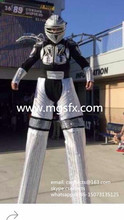 Free Shipping LED Light up Kryoman stilts walker ROBOT SUIT