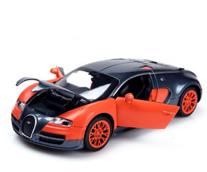 1:32 Scale Bugatti Veyron Alloy Diecast Car Model Pull Back Toy Cars  Electronic Car With Flashing Kids Toys Gift Free Shipping In Diecasts U0026 Toy  Vehicles ...