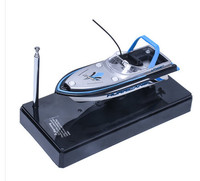 RC Boat electric with mini Remote control speedboat toys for children gift present kids.