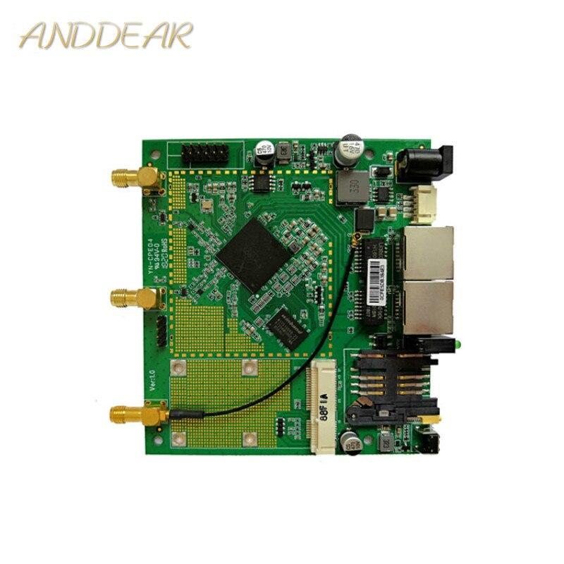 OEM/ODM Stock Statue AR9344 2.4 GHz 300 mbps routeur POE/CPE carte PCB rj45 connecteur ordinateur fil d'ordinateur
