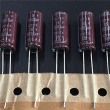 10pcs 1000uF 16V NIPPON NCC KY Series 8x20mm Low ESR 16V1000uF Aluminum Electrolytic Capacitor