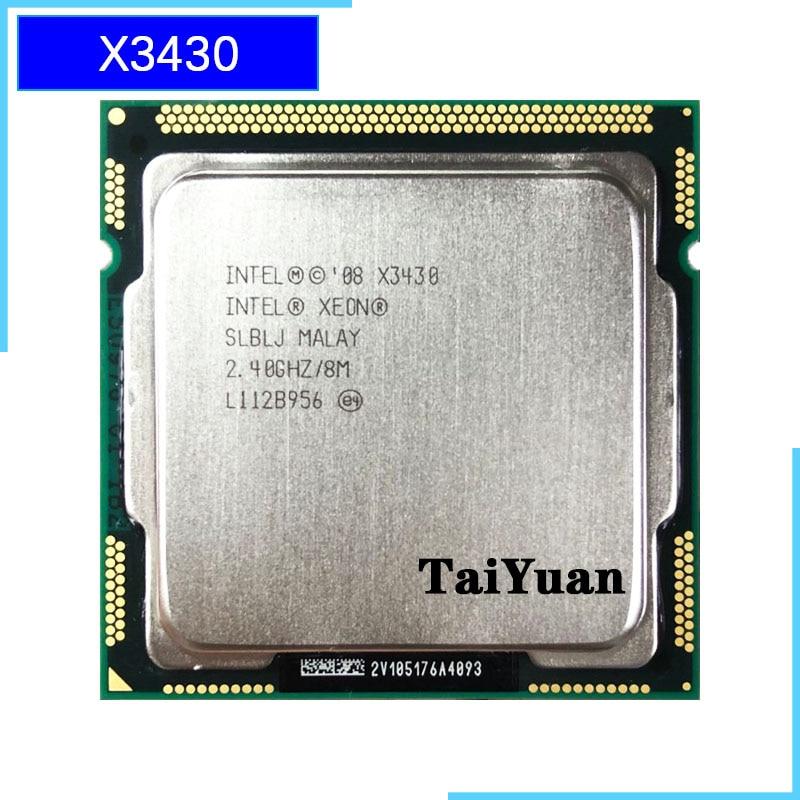 CPU Processor 3.06 GHz SLBPT Free shipping Intel Xeon X3480 LGA 1156