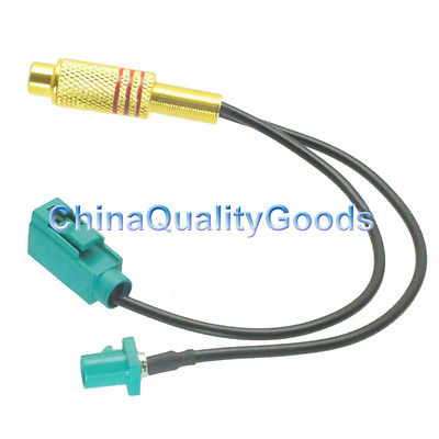 RCA jack to Fakra Z male to female jack pigtail cable RG174 15cm for wireless автомобильные антенны panorama gps fakra c rns510 550 mg6