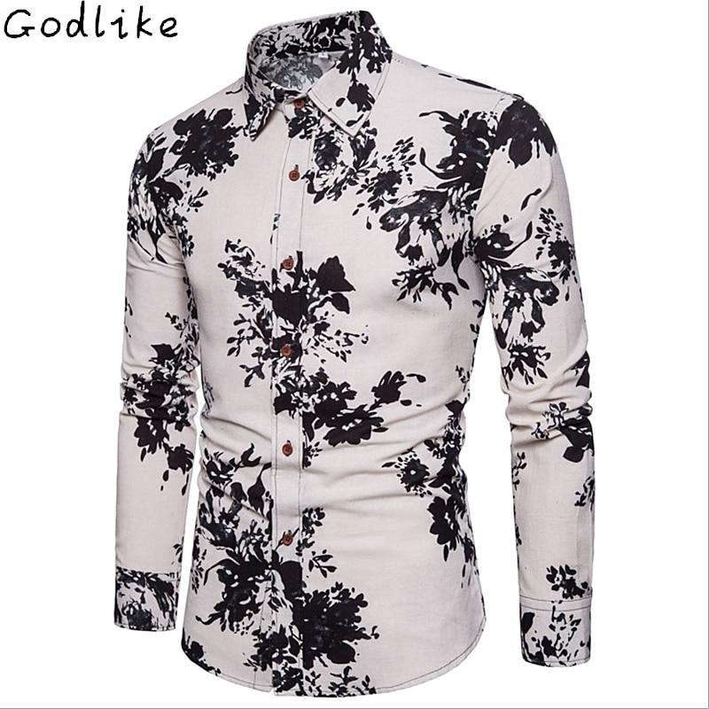 GODLIKE Új férfi hosszú ujjú póló, külkereskedelem nagy - Férfi ruházat