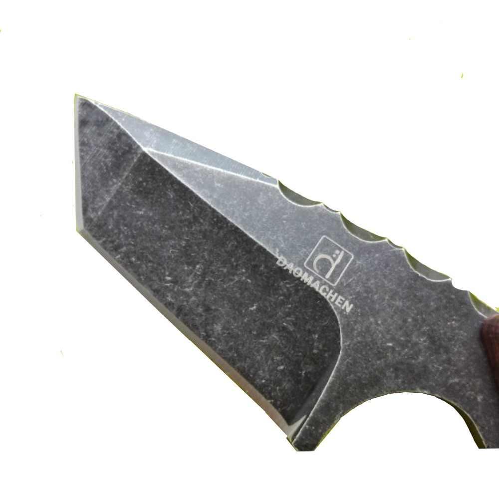 DAOMACHEN Taşınabilir Çok Fonksiyonlu çakı Açık Survival Bowie kendini savunma Mini Meyve bıçak avcılık bıçağı Ücretsiz Kargo