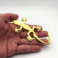 sticker motorcycle accessories 1PCS 3D Metal Gecko Lizard Quattero Car Motorcycle Sticker applique Truck Label Emblem Badge Car Styling Decoration Accessories (3)