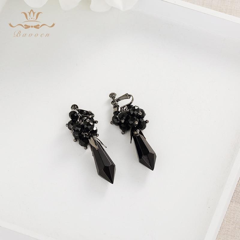 Handmade Luxurious Crowns Tiaras for Brides with Black Rhinestone - Fashion Jewelry - Photo 5