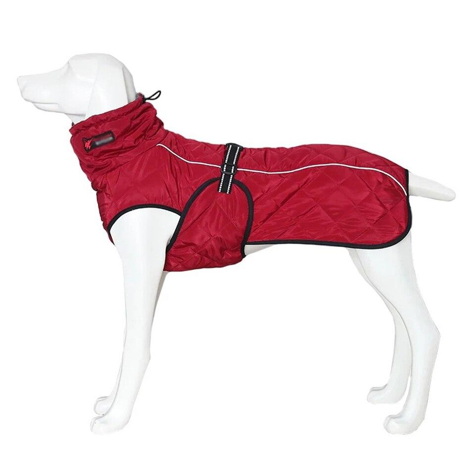 Large Waterproof Dog Jacket