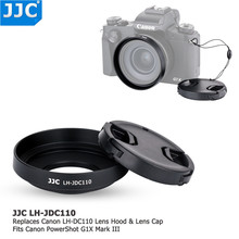JJC kaamera kruvi objektiivi kapoti kaitsekate Canon PowerShot G1X Mark III asendamiseks LH-DC110