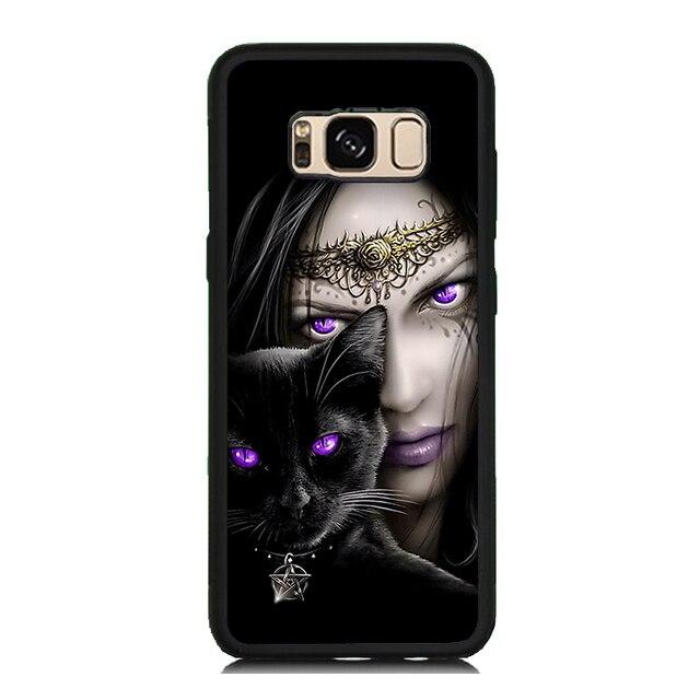 a samsung galaxy s8 phone case purple
