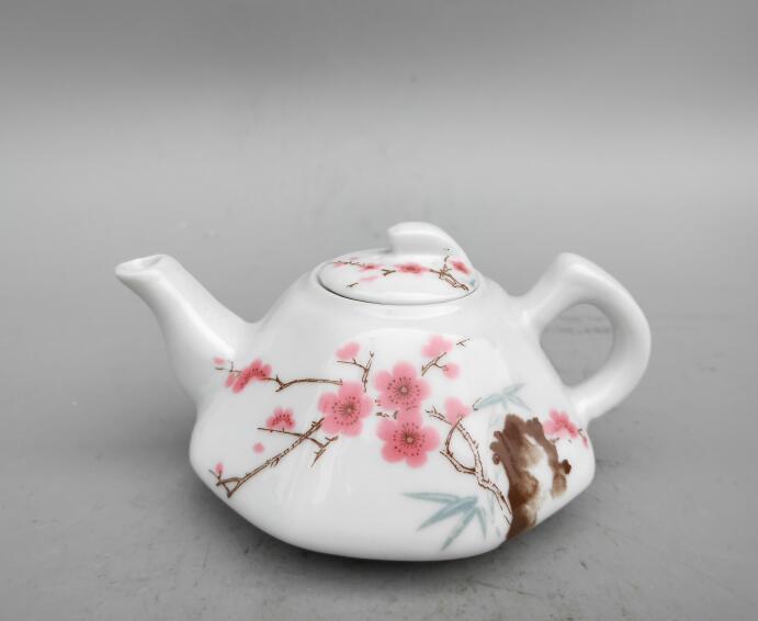 Collection exquisite souvenir plum blossom ceramic wine pot #1|Statues & Sculptures| |  - title=