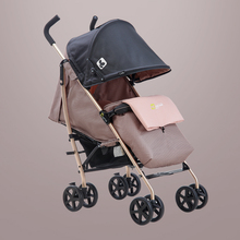 Coolbaby 5kg ultra-light stroller portable foldable carriage can be lying baby trolley children's umbrella car